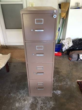 DIY file cabinet smoker