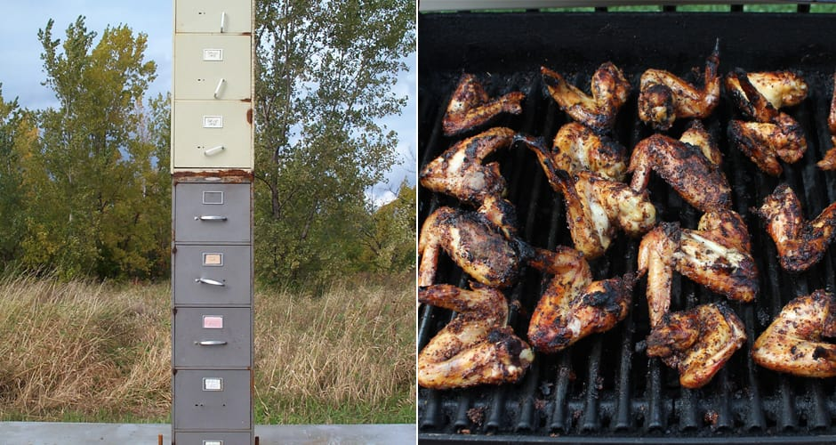 File Cabinet SmokersTurn An Old File Cabinet Into A Meat Smoker - 8 diy smokers for enjoying barbeques