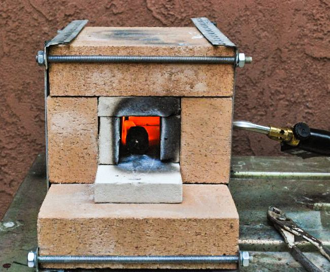 Fire Brick Homemade Forge