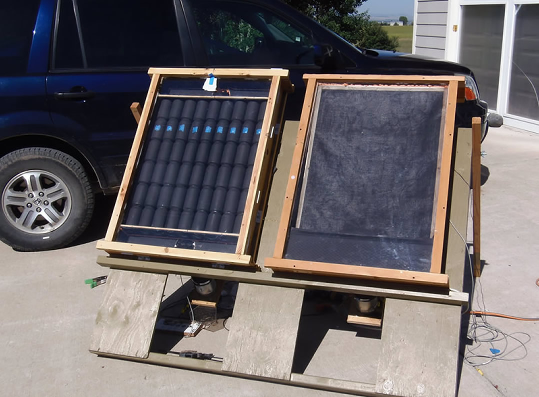 diy solar air heater