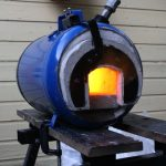 DIY propane forge