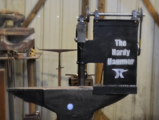 Anvil Mounted Power Hammer