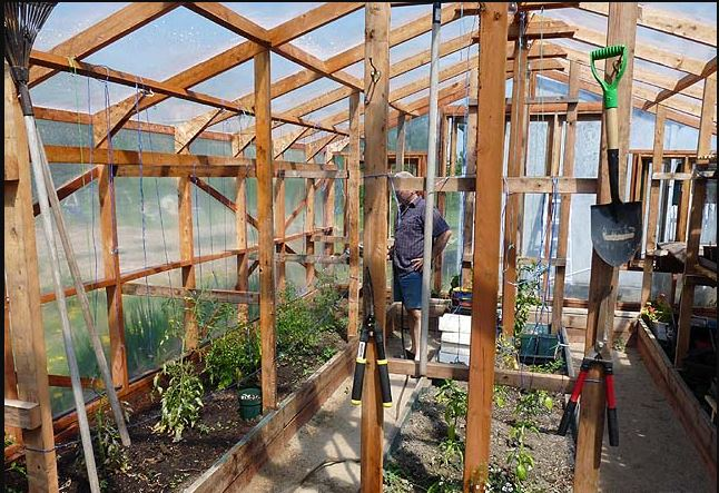 DIY greenhouse