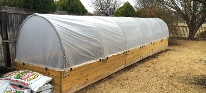Raised Bed Garden Greenhouse