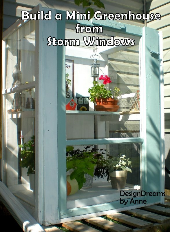 Storm Window Greenhouse