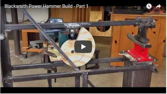 8 Homemade Power Hammer For Forging | The Self-Sufficient ...