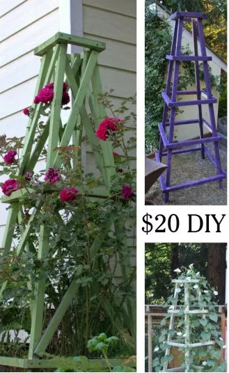 DIY tower garden.