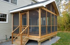 Deck Turned Screened In Porch