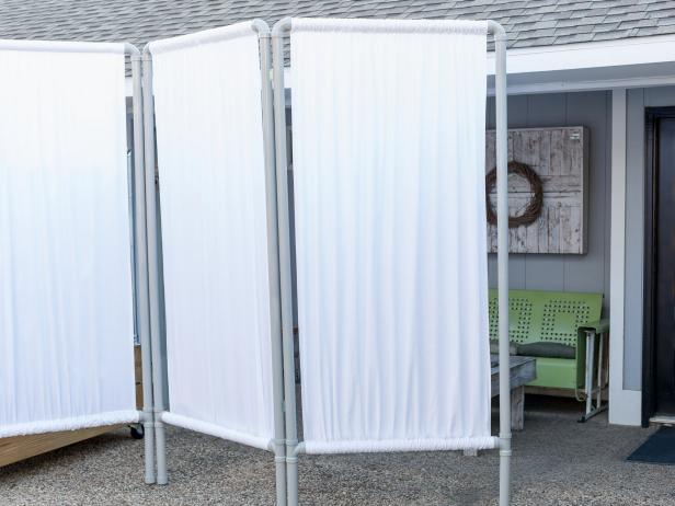 PVC Pipe DIY Privacy Screen