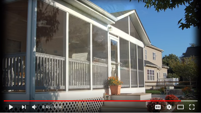 DIY Screened In Porch Video Tutorial