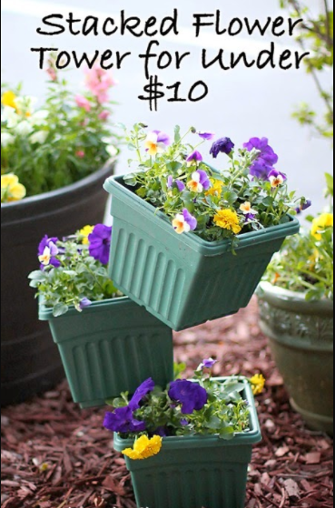 30 Diy Tower Garden Ideas To Grow Plants Vertically The