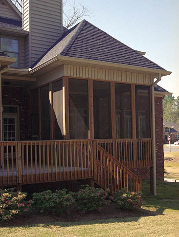 free screened in porch plans