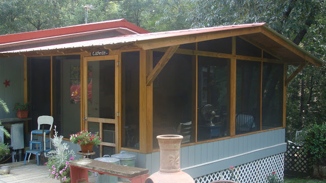 how to build a screened in porch