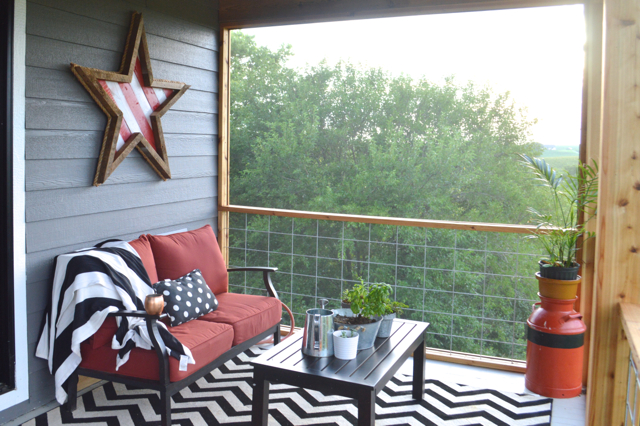 plans to screen in your back porch