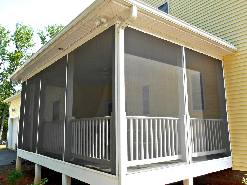 DIY Screened In Porch Makeover
