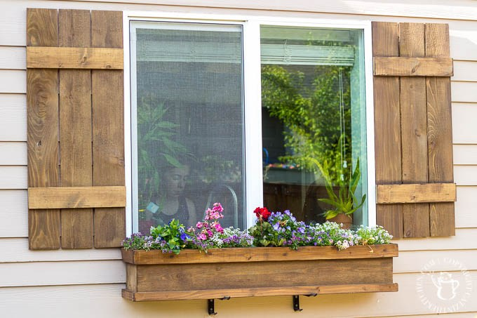 Build Window Box and Shutters Together
