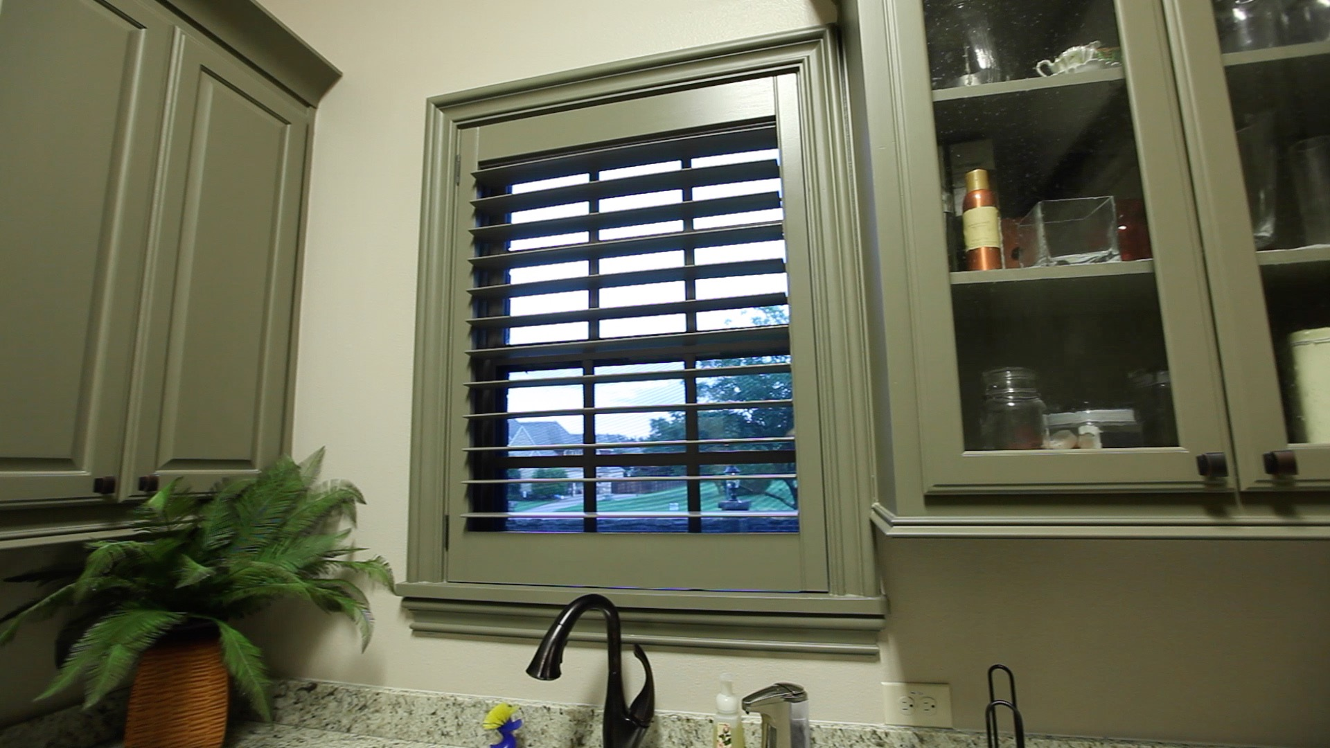 Custom Size DIY Plantation Shutters