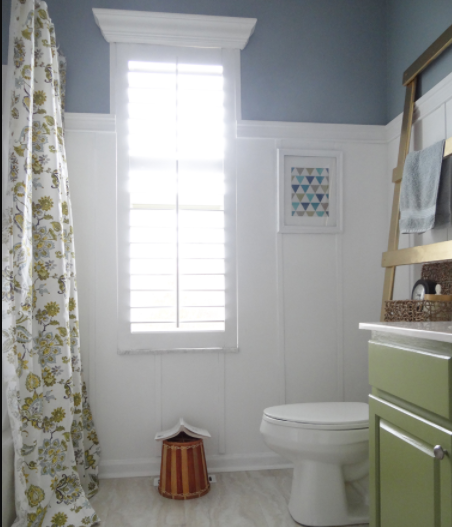 Get Privacy And Beauty With This DIY Plantation Shutter