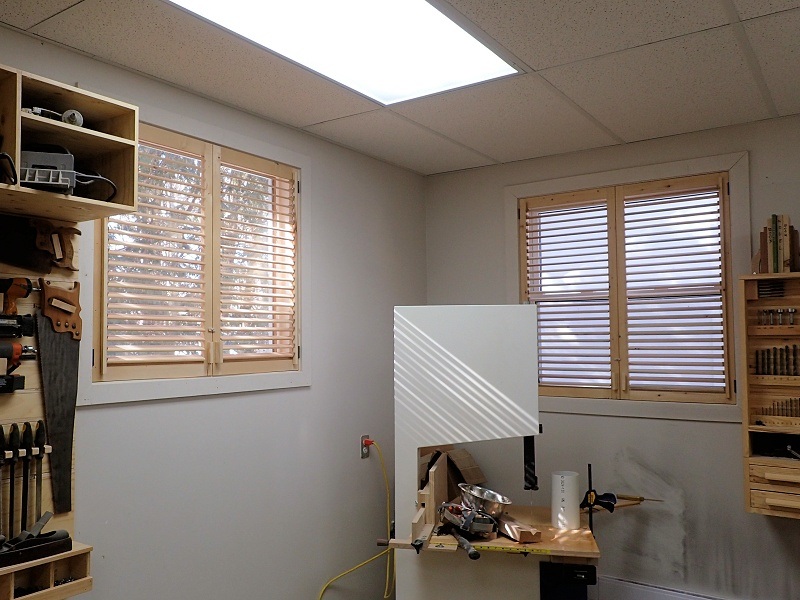 Make Plantation Shutter From Leftover Wood