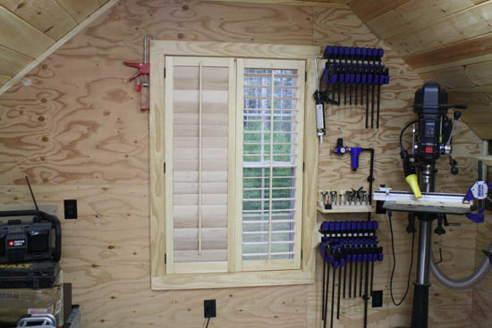 Build Movable Wood Shutters Using Rockler's Kit