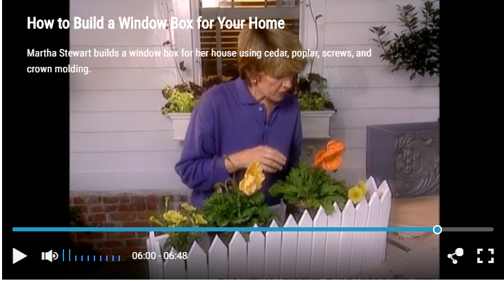 building your own stylish flower box