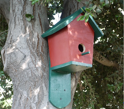 Build a Pitched Roof Bluebird House