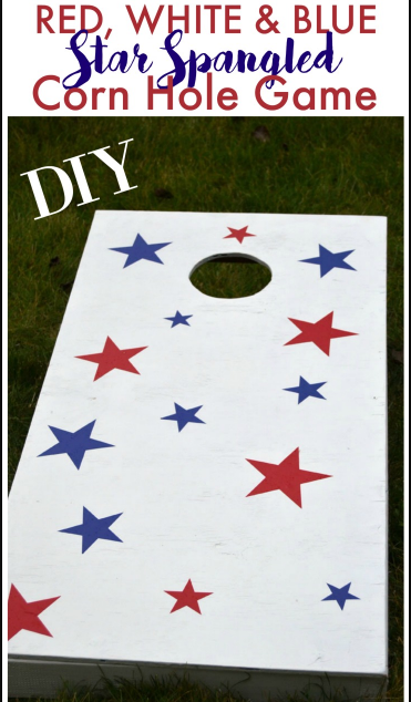 HOW TO MAKE CORNHOLE GAME BOARDS