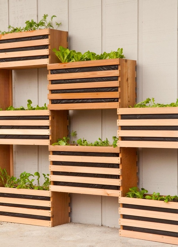 Save Space With Modern Vegetable Planters
