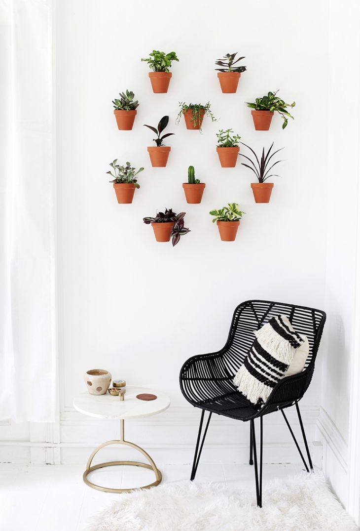 floating vertical planters