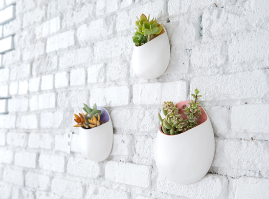 vertical planter design idea