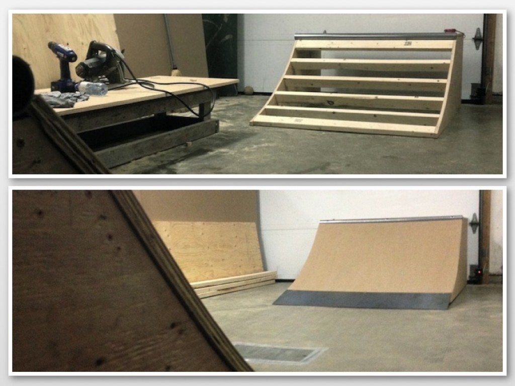 Build A Micro Quarter Pipe Ramp