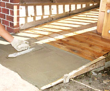 Build a Deck Access Ramp