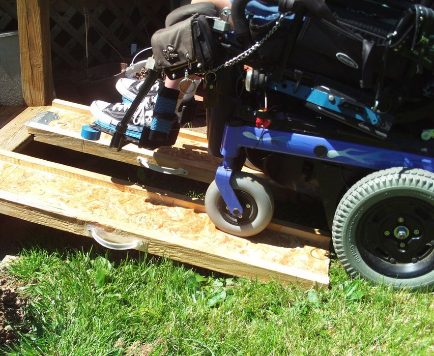 Build a Portable Wheelchair Ramp