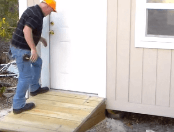 Build a Shed Ramp For Your Home