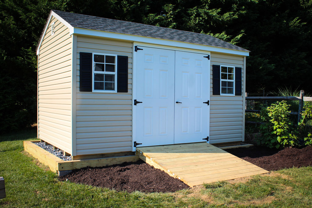 Make A Garage Shed Ramp