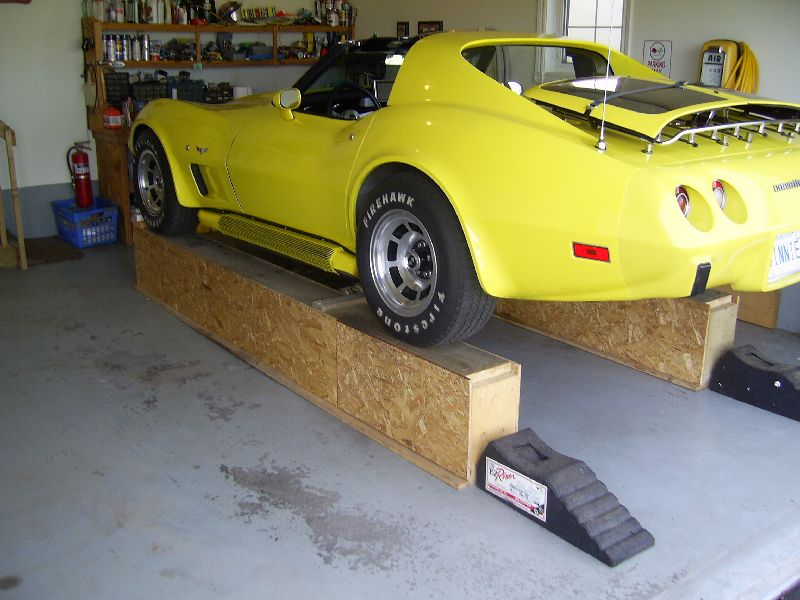 Make a Car Ramp For Your Vehicle
