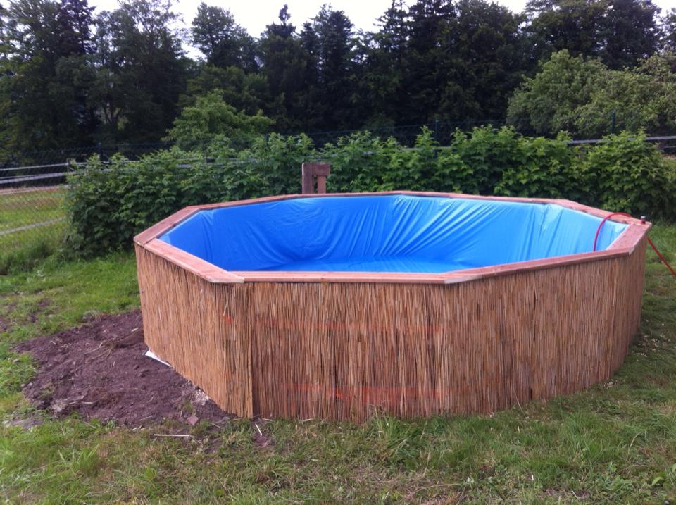 Pallet Homemade Swimming Pool