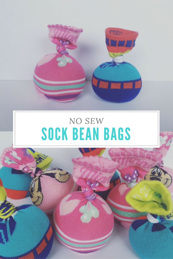 DIY Sock Bean Bags