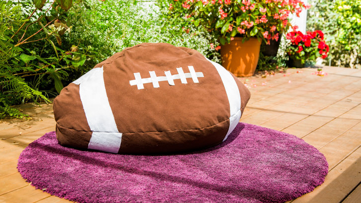 Football DIY Bean Bag Chair