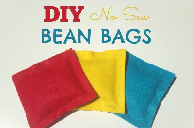 No Sew DIY Bean Bags