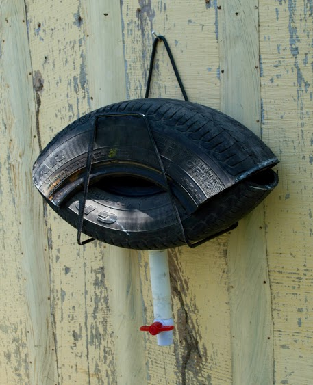 Homemade Tire Mosquito Trap