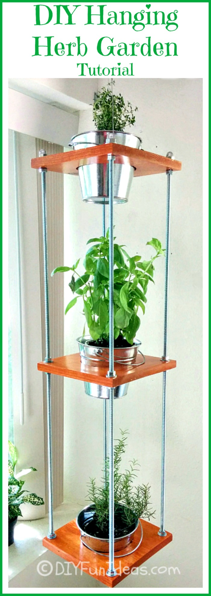 37 cool hanging herb garden ideas to grow your favorite herbs industrial style diy hanging garden workwithnaturefo