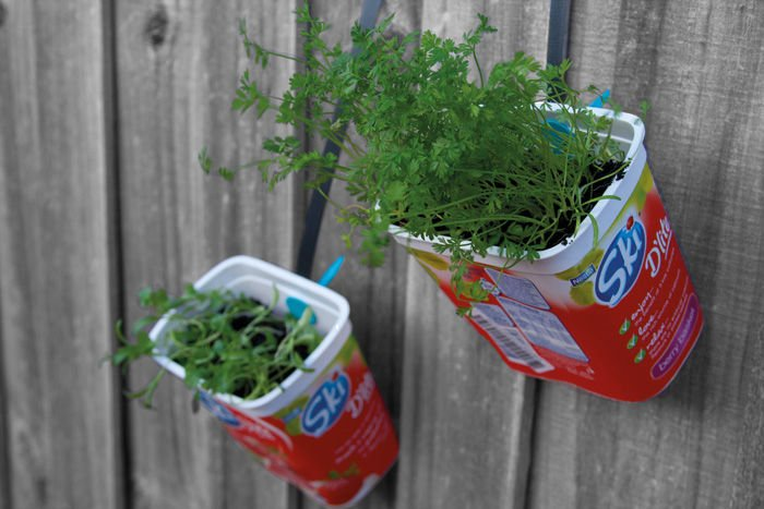 Makedo Hanging Herb Garden