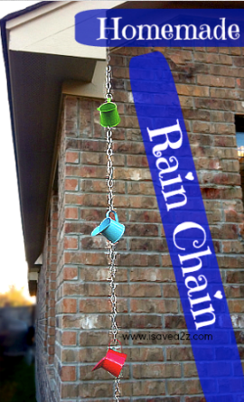 Little Watering Cans Rain Chain