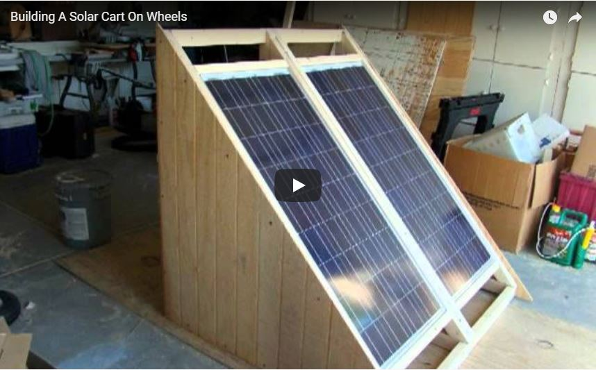 Small Scale DIY Solar Generator