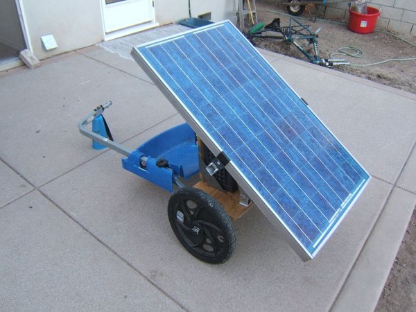 DIY Solar Generator on Wheels