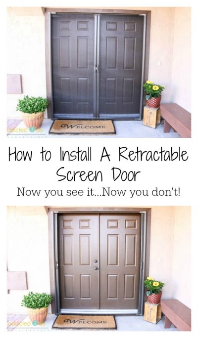 Install a Retractable Screen Door