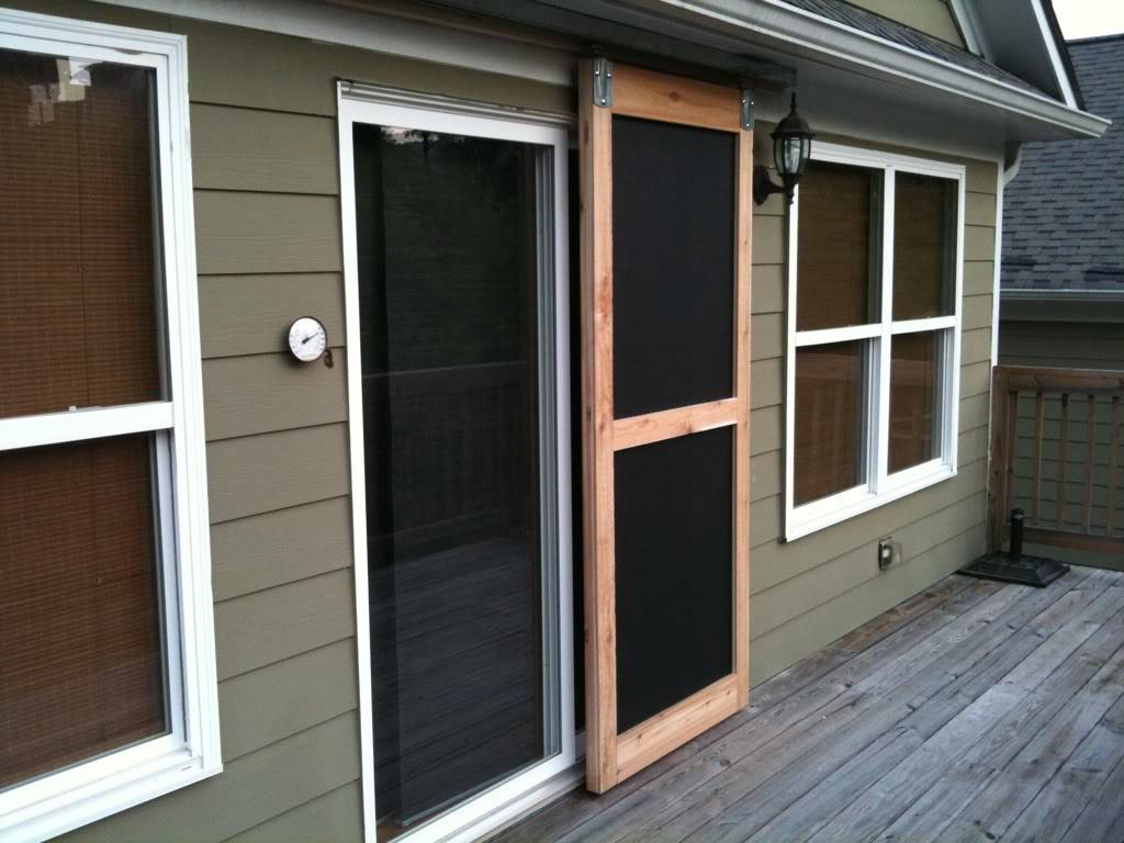 Sliding Screen Door
