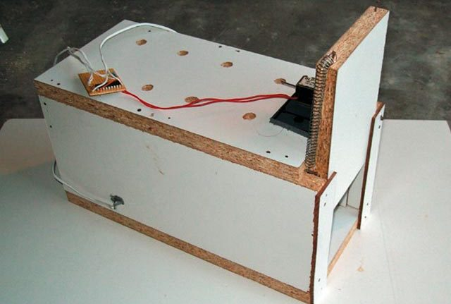 Humane Homemade Mouse trap