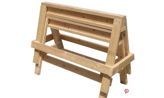 Build the Ultimate Wood Sawhorses